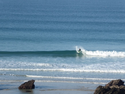 fistral beach wave