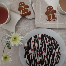 tea, cake and gingerbread people