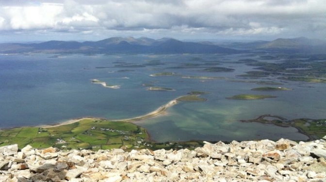 Clew Bay from Croagh Patrick