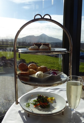 Knockranny Afternoon Tea - with a view