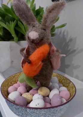 Hands off my mini eggs!